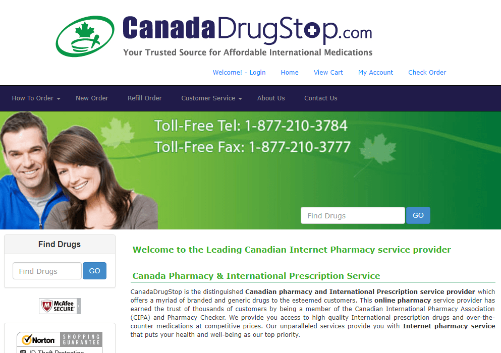 Canada Drug Stop - Good Source of Affordable Medication with Gaps in Customer Service