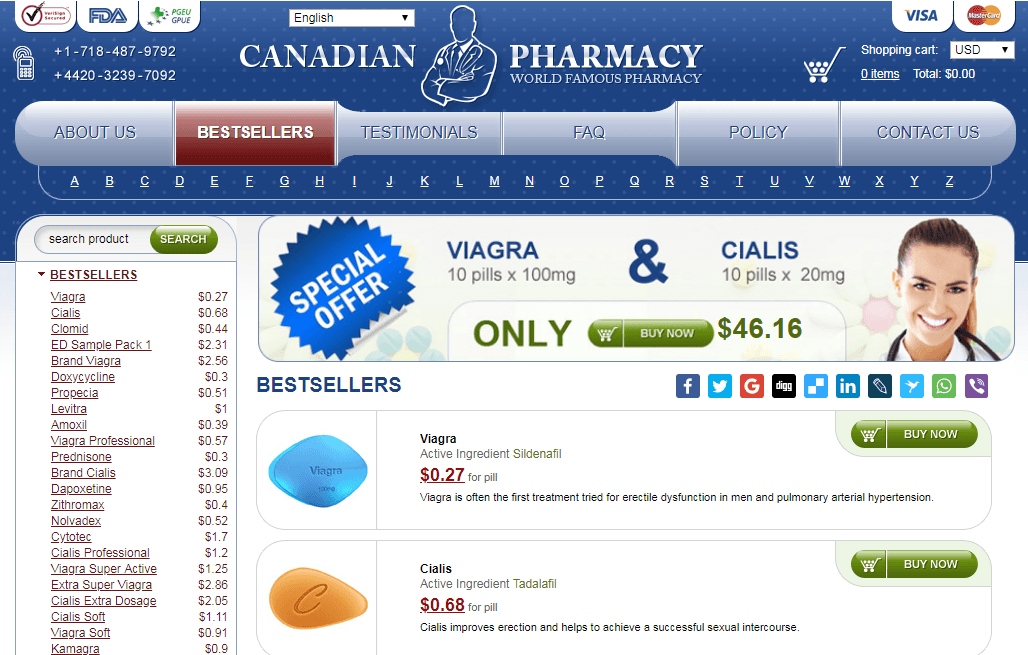 Canadian Pharma Com Reviews – Glimpse on What to Expect