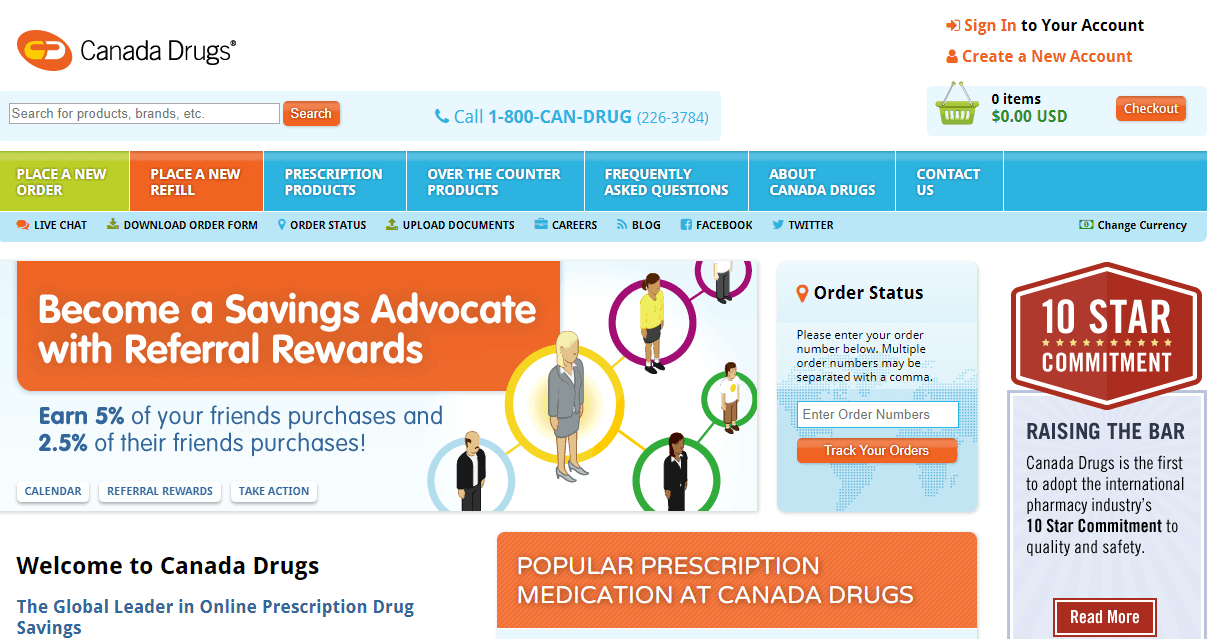 Canada Drugs Coupon - Saving With the Exclusive Canada Drugs Coupon Codes