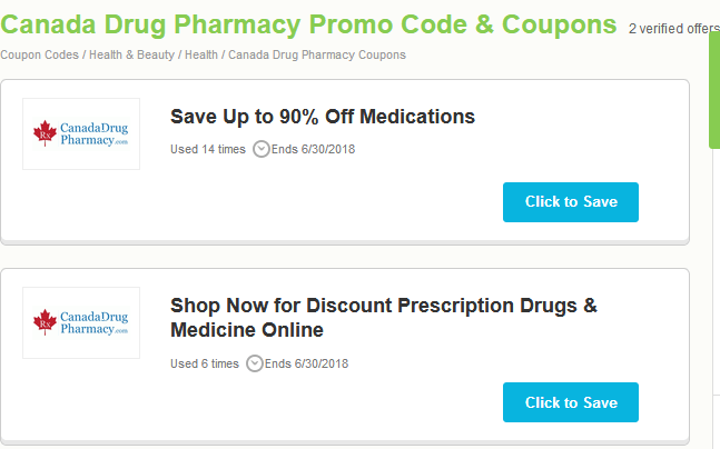 Canadadrugpharmacy Discount Coupons