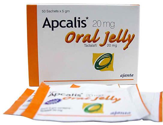 Apcalis 20 mg Oral Jelly (generic Cialis)