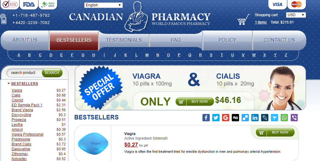 Foreign Online Pharmacy